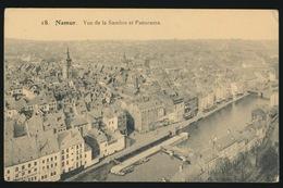 NAMUR  VUE DE LA SAMBRE ET PANORAMA - Namur