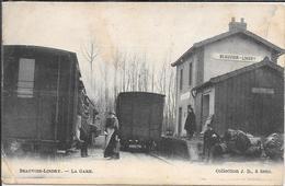 Beauvoir Lendry La Gare - Pli Angle Voir Verso - Frankreich