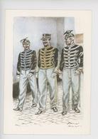 Uniformes Belges, Belgische Uniformen, Lanciers, Sous-officier En Tenue De Service 1910 -   Thiriar Illustrateur - Uniformen