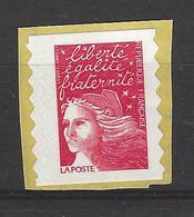 FRANCE 1997 TIMBRE 3085 TYPE II TIMBRE PROVENANT DE CARNET  MARIANNE DE LUQUET - France