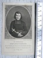 Image Religieuse -  Le Vénérable Jean Louis Bonnard - Santini