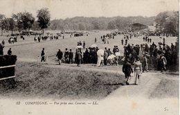 CHEVAUX - CHAMP DE COURSES DE COMPIEGNE - HIPPODROME - LA PISTE - N 040 - Reitsport