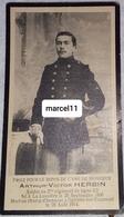 Guerre 14/18-Herbin Arthur (soldat Au 2ème Régiment De Ligne-1890/1914 Mort Pour La Patrie - Décès