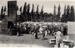 CHEVAUX - CHAMP DE COURSES DE CAEN - HIPPODROME - LA PELOUSE - N 053 - Reitsport