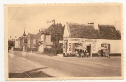 TEMPLOUX : Arrêt Du Tram Et Hospice St-Joseph. Animée, La Petite Auberge; Milord Pale Ale .Photo Toussaint, Spy. - Namur