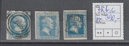 Preußen Nr. 7 In Den Farben A, B Und C; Geprüft Brettl - Prussia