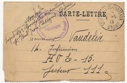 FRANCE - C.L - 151eme Régiment D'Infanterie - St Paul Trois Chateaux - 1915 - Lettere In Franchigia Militare