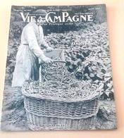 Vie A La Campagne N°442 Août 1947 Poule Longhorn,Casa Maria Angelica Cagnes, Interieur Alsacien - Libros, Revistas, Cómics