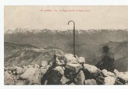 05 Hautes Alpes Cachet  St André De Rosans Le Signal Du Pic De Bure 1926 Ed Auguste Gros  Serres - Andere Gemeenten