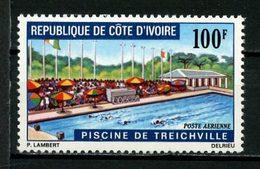 COTE D'IVOIRE 1971 PA N° 50 ** Neuf MNH Superbe C 3,20 € Piscine De Treichville Sports Natation - Côte D'Ivoire (1960-...)