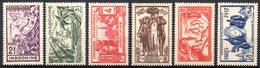 Col17  Colonie Indochine N° 193 à 198 Neuf XX MNH   Cote 14,00€ - Nuevos