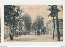 31 Croix Daurade Banlieue De Toulouse La Grande Route Interieur Du Village Cpa Bon Etat - Francia
