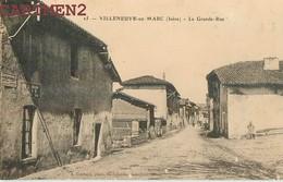 VILLENEUVE-DE-MARC LA GRANDE RUE 38 ISERE - Frankrijk