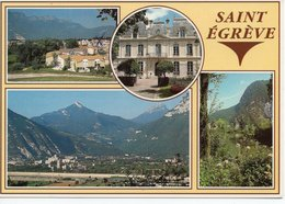 SAINT EGREVE - ROCHEPLAINE - VUE GÉNÉRALE - MAIRIE - PLAN D'EAU - Sonstige Gemeinden