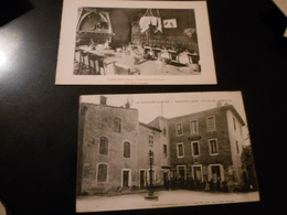 LOT DE 28 CPA / ECOLES - MAIRIES - RUES ... VILLES DIVERSES - Postcards