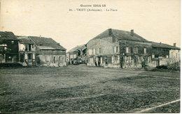 VRIZY.  La Place. Guerre 1914-18 - Francia