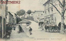 ROUSSILLON MONTEE DU CHATEAU ANIMEE 38 ISERE - Roussillon
