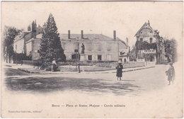 19. BRIVE. Place Et Statue Majour. Cercle Militaire - Brive La Gaillarde