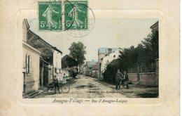 AMAGNE-VILLAGE. Rue D'Amagne-Lucquy (édition Des Comptoirs Français) - Frankrijk