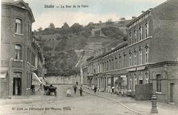 STATTE. La Rue De La Gare. Prés De Huy Et Bas-Oha.  SUPERBE ETAT. - Bélgica