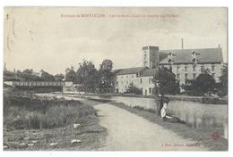Environs De MONTLUÇON (Allier, 03)  Les Bords Du Canal Au Moulin Des Trillers - Animé - Pêcheur - Montlucon