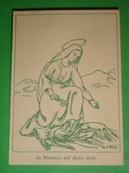 Madonna Del.AMBA UORK Guerra ETIOPIA Alpini Divisione Pusteria /Regio Esercito Africa Orientale/Re.Duce/santino Militare - Santini