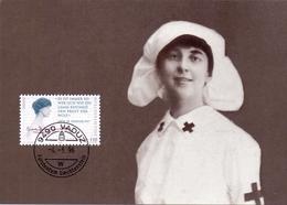 LIECHTENSTEIN  VADUZ NORA GRAFIN KINSKY UND ZITAT   1996 POST CARD   (GENN2001163) - Primo Soccorso