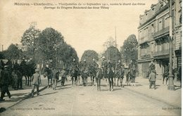 MEZIERES-CHARLEVILLE. Manifestation Du 12 Septembre 1911, Contre La Cherté Des Vivres - Charleville