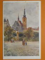 #65674, Czechia, Prostějov, Rudolfovo Náměstí, Used 1919 - Repubblica Ceca