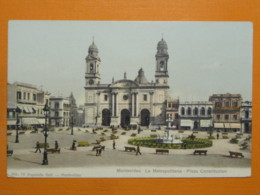 #64502, Uruguay, Montevideo, La Metropolitana, Plaza Constitucion - Uruguay