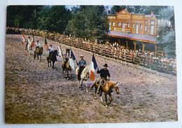 CARTE POSTALE MER DE SABLE CENTRE JEAN RICHARD ERMENONVILLE OISE 1968 FAR WEST WESTERN COWBOYS CHEVEAUX - Sonstige