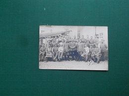 CARTE PHOTO FONTAINEBLEAU MILITAIRES L EQUIPE DU MESS MAGENTA 1920/21 SUPERBE ETAT - Fontainebleau