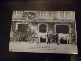 Rare Cpa La Maison Maumus, Cochers Et Postillons - Biarritz