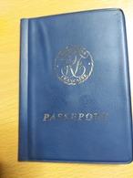 Passeport France Passport Excellent état +3 TIMBRES FISCAUX +CACHET CONSULAT +PLUSIEURS CACHETS - Titres De Transport