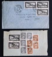 Lot De 2 Lettres D'Indochine (Haiphong 1949 Et Hanoï 19xx) - Briefe U. Dokumente