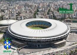 RIO DE JANEIRO BRESIL Maracana Stadium Stade Estadio Stadion - Postkaarten