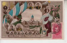 ARGENTINA -  1810 REPUBLICA ARGENTINA 1910 Buenos Aires  PRIX FIXE - Argentina