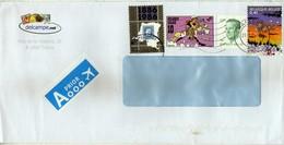 Belgium Letter Via Macedonia,Yugoslavia 2015 - Mix Stamps - Belgium