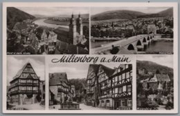 Miltenberg - S/w Mehrbildkarte 10 - Miltenberg A. Main