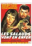 Marina Vlady Henri Vidal Serge Reggiani Frédéric Dard San-Antonio Les Salauds Vont En Enfer - Acteurs