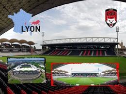 LYON Matmut Gerland Stadium Stade Estadio Stadion - Andere