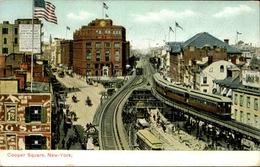 ETATS UNIS - Carte Postale - New York - Cooper Square - L 51319 - New York City