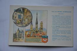 Departement De La Seine Inferieure-Rouen-Dieppe-Yvetot-offert Par Pastilles Valda - Unclassified