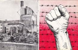 40 AÑOS DEL HOLOCAUSTO, SEGUNDA GUERRA MUNDIAL. 1985 ARGENTINA SPC POSTAL JUDAISMO ISRAEL יהדות ישראל -LILHU - Judaisme