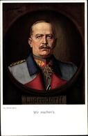 Artiste Cp Ulmer, H., Wir Machen's, Generalfeldmarschall Erich Friedrich Wilhelm Ludendorff - Militaria