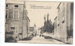 Vosne Romanée , Entrée Du Pays Rue De La Granvelle - Altri Comuni