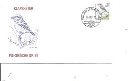 Belgique - Buzin - Oideaux - Pie Grièche Grise (  FDC De 2001 à Voir) - FDC