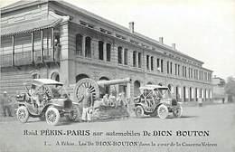 Themes Div-ref EE245- Automobiles-voiture Automobile - Dion Bouton -raid Pekin - Paris - Chine - China -peking -pekin - Chine