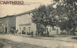 AUBERIVES CAFE CLEMARON FILS ROUTES DE MARSEILLE ET DE COUR 38 ISERE - Unclassified