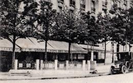 CPA 75 PARIS 15e Station De Métro Nord Sud PORTE DE VERSAILLES Boulevard Lefebvre Station De Taxis 1923 F Fleury N° 1566 - Metropolitana, Stazioni